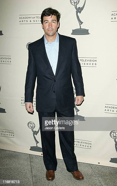 Actor Kyle Chandler at 'An Evening with Friday Night Lights' at the Leonard Goldenson Theater on January 31 2008 in North Hollywood California