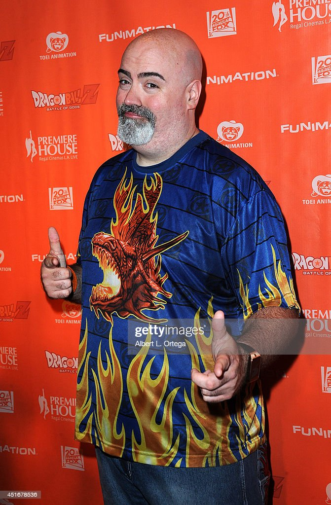 Actor Kyle Hebert arrives for the Premiere Of 'Dragon Ball