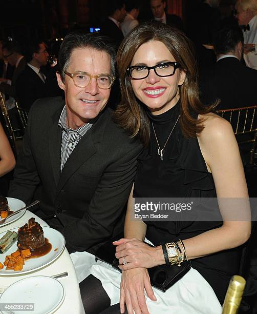 Actor Kyle MacLachlan and Desiree Gruber attend the Child Mind Institute 4th Annual Child Advocacy Award Dinner at Cipriani 42nd Street on December...