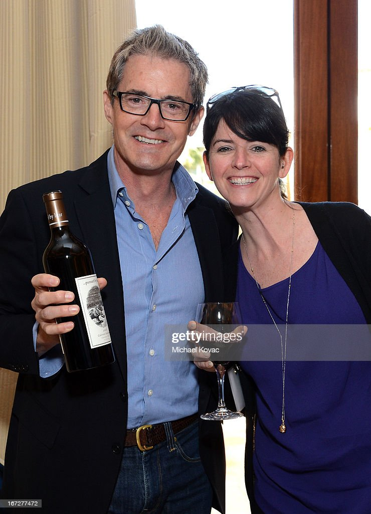 Actor <a gi-track='captionPersonalityLinkClicked' href=/galleries/search?phrase=Kyle+MacLachlan&family=editorial&specificpeople=213038 ng-click='$event.stopPropagation()'>Kyle MacLachlan</a> (L) and Stefanie McNamara attend The American Express Publishing Luxury Summit 2013 at St. Regis Monarch Beach Resort on April 23, 2013 in Dana Point, California.