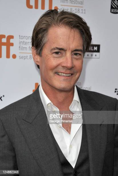 Actor Kyle MacLachlan arrives at 'Peace Love Misunderstanding' Premiere at Roy Thomson Hall during the 2011 Toronto International Film Festival on...