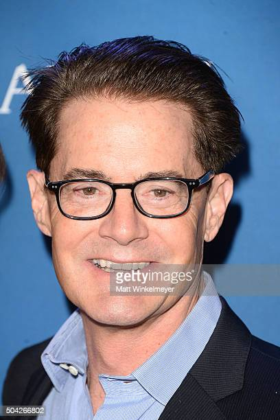 Actor Kyle MacLachlan arrives at the 5th Annual Sean Penn Friends HELP HAITI HOME Gala benefiting J/P Haitian Relief Organization at Montage Hotel on...