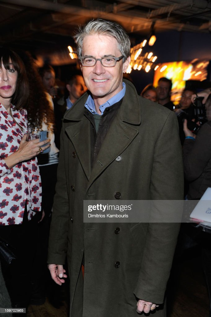 Actor <a gi-track='captionPersonalityLinkClicked' href=/galleries/search?phrase=Kyle+MacLachlan&family=editorial&specificpeople=213038 ng-click='$event.stopPropagation()'>Kyle MacLachlan</a> attends Day 1 of Village at The Lift 2013 on January 18, 2013 in Park City, Utah.