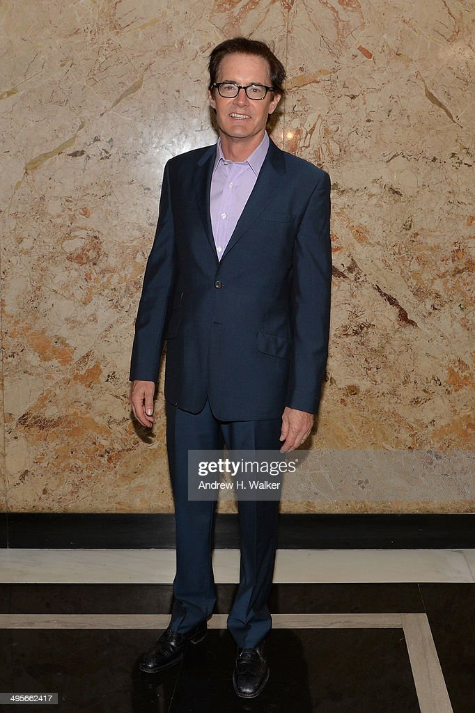 Actor <a gi-track='captionPersonalityLinkClicked' href=/galleries/search?phrase=Kyle+MacLachlan&family=editorial&specificpeople=213038 ng-click='$event.stopPropagation()'>Kyle MacLachlan</a> attends the Gucci beauty launch event hosted by Frida Giannini on June 4, 2014 in New York City.