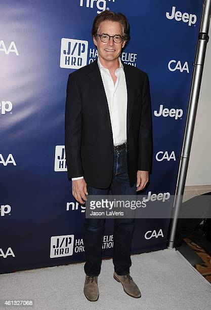 Actor Kyle MacLachlan attends the 'Help Haiti Home' gala at Montage Hotel on January 10 2015 in Los Angeles California