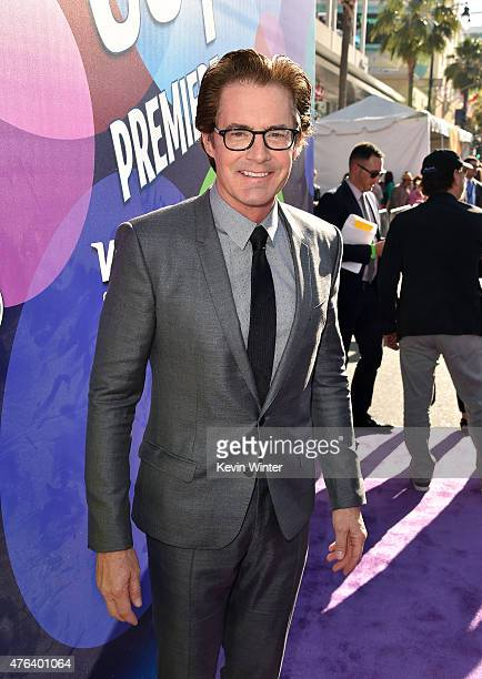 Actor Kyle MacLachlan attends the Los Angeles premiere of DisneyPixar's 'Inside Out' at the El Capitan Theatre on June 8 2015 in Hollywood California