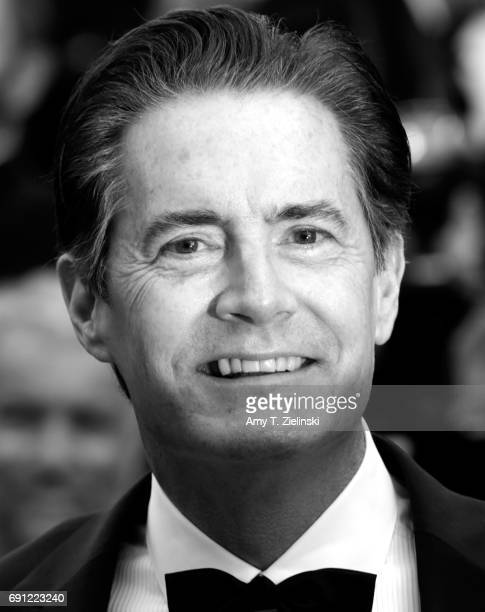 Actor Kyle MacLachlan attends the 'Twin Peaks' screening during the 70th annual Cannes Film Festival at Palais des Festivals on May 25 2017 in Cannes...