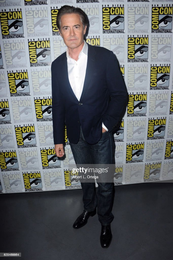 Actor Kyle MacLachlan attends 'Twin Peaks: A Damn Good Panel' during Comic-Con International 2017 at San Diego Convention Center on July 21, 2017 in San Diego, California.