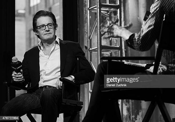 Actor Kyle MacLachlan discusses his new film 'Inside Out' at the AOL BUILD Speaker Series at AOL Studios In New York on June 11 2015 in New York City