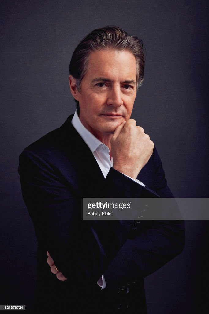 Actor Kyle MacLachlan from Showtime's 'Twin Peaks' poses for a portrait during Comic-Con 2017 at Hard Rock Hotel San Diego on July 21, 2017 in San Diego, California.