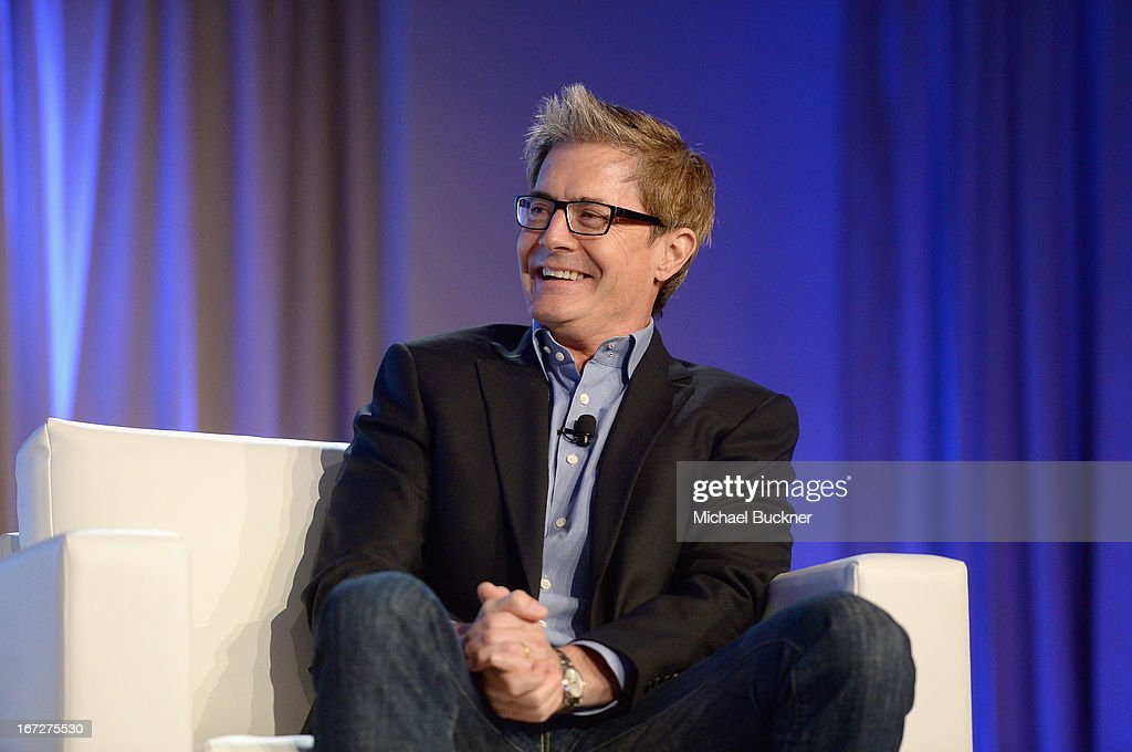 Actor <a gi-track='captionPersonalityLinkClicked' href=/galleries/search?phrase=Kyle+MacLachlan&family=editorial&specificpeople=213038 ng-click='$event.stopPropagation()'>Kyle MacLachlan</a> speaks onstage during The American Express Publishing Luxury Summit 2013 at St. Regis Monarch Beach Resort on April 23, 2013 in Dana Point, California.