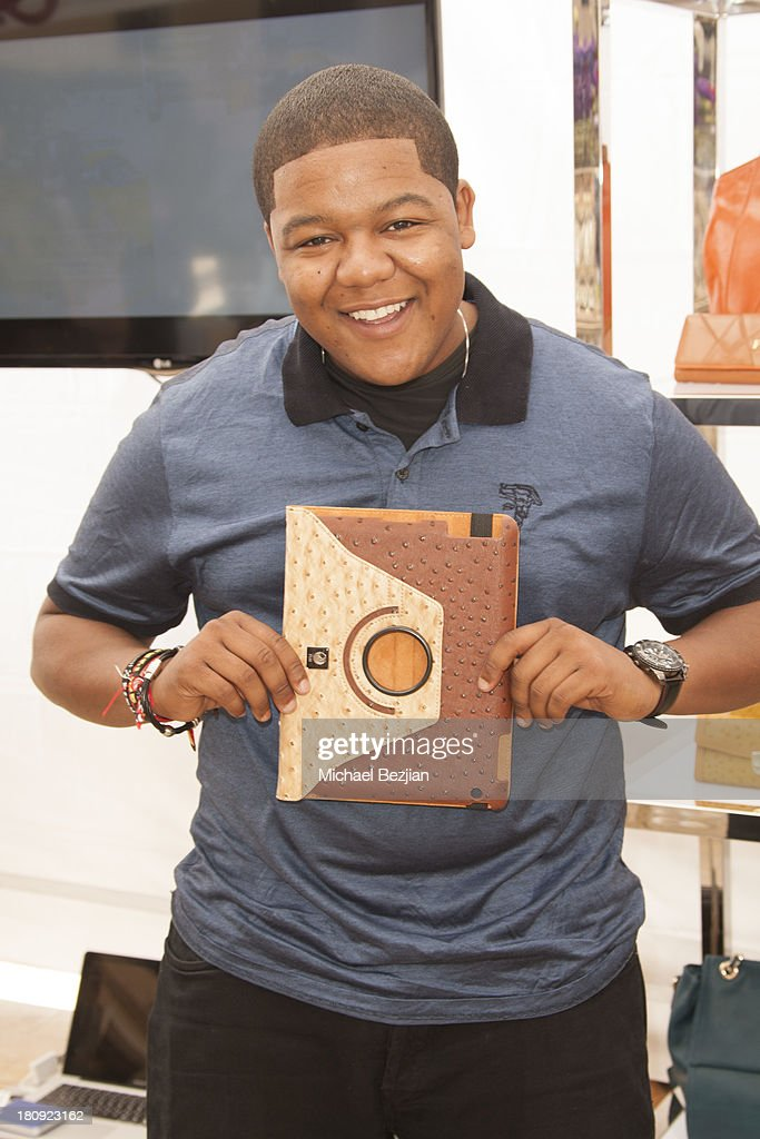 Actor <a gi-track='captionPersonalityLinkClicked' href=/galleries/search?phrase=Kyle+Massey+-+Actor+-+Born+1991&family=editorial&specificpeople=540280 ng-click='$event.stopPropagation()'>Kyle Massey</a> attends Bellafortuna Luxury Gift Suite Presented By Feri on September 17, 2013 in Beverly Hills, California.