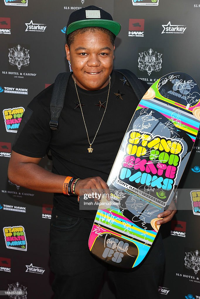 Actor Kyle Massey attends the 10th Annual Stand Up For Skateparks Benefiting The Tony Hawk Foundation on October 5, 2013 in Beverly Hills, California.