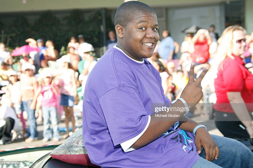Actor Kyle Massey rides in parade at the 61st Annual Mother Goose Parade on November 18 2007 in El Cojon California
