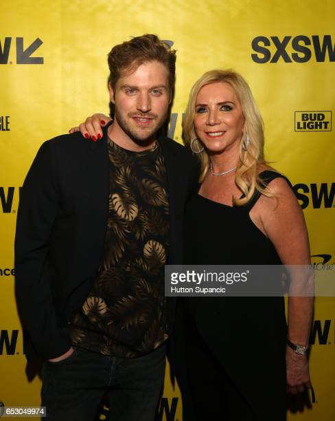 Actor Kyle McKeever and producer Micki Purcell attend the premiere of 'MFA' during 2017 SXSW Conference and Festivals at Stateside Theater on March...