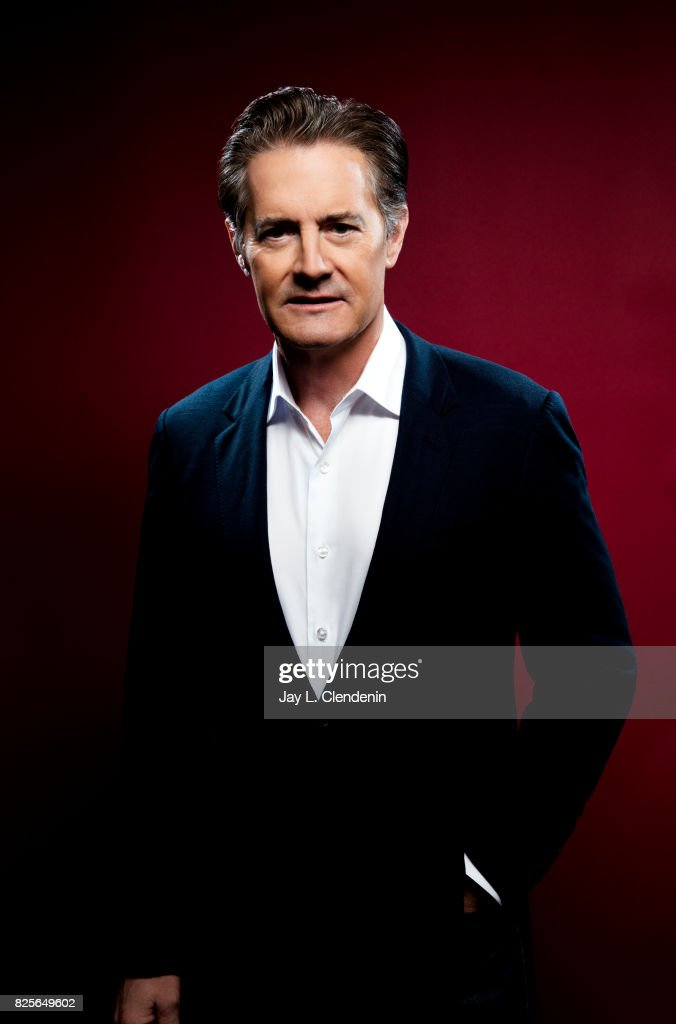 Actor Kyle McLaughlin, from the television series 'Twin Peaks,' is photographed in the L.A. Times photo studio at Comic-Con 2017, in San Diego, CA on July 21, 2017.