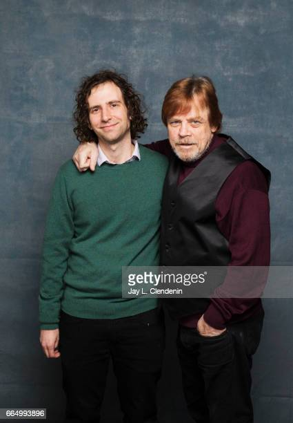 Actor Kyle Mooney and actor Mark Hamil from the film Brigsby Bear are photographed at the 2017 Sundance Film Festival for Los Angeles Times on...