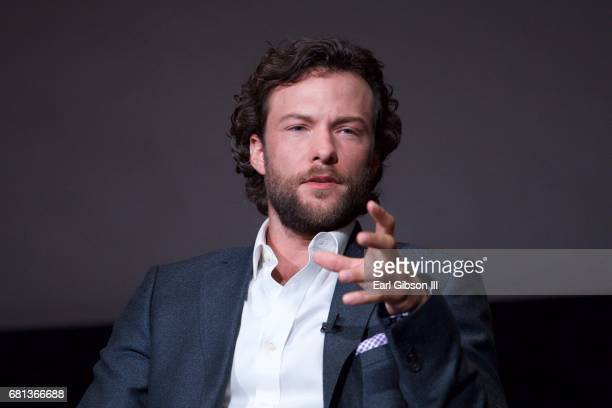 Actor Kyle Schmid speaks onstage at the FYC Event for HISTORY's 'SIX' at Wolf Theatre on May 9 2017 in North Hollywood California