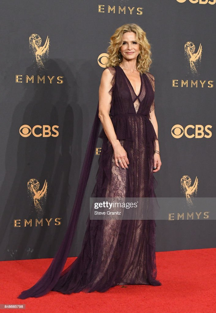 Actor Kyra Sedgwick poses in the press room during the 69th Annual Primetime Emmy Awards at Microsoft Theater on September 17, 2017 in Los Angeles, California.