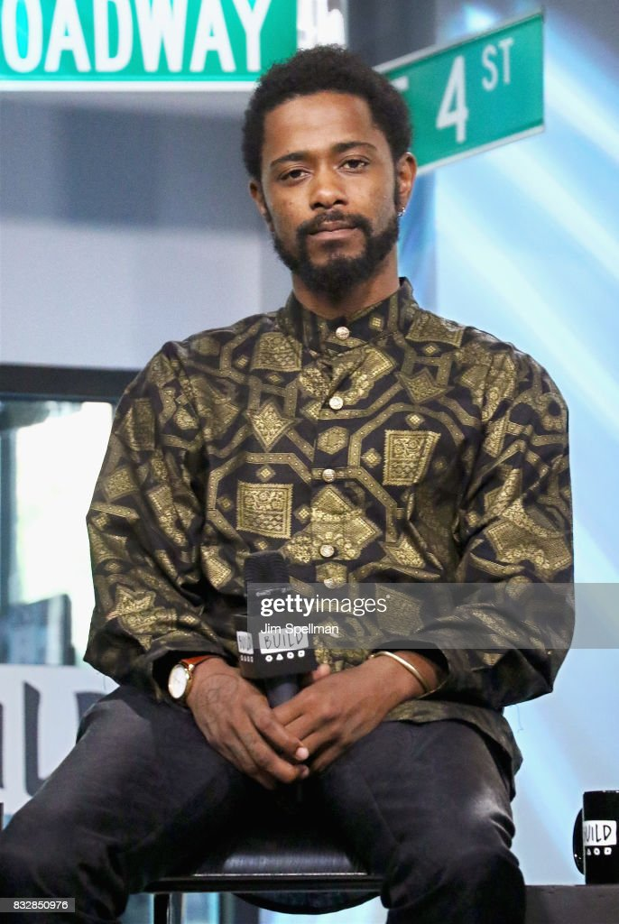 Actor LaKeith Stanfield attends Build to discuss 'Crown Heights' at Build Studio on August 16, 2017 in New York City.