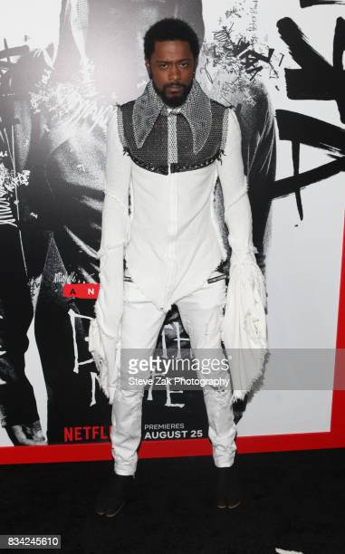 Actor LaKeith Stanfield attends 'Death Note' New York premiere at AMC Loews Lincoln Square 13 theater on August 17 2017 in New York City
