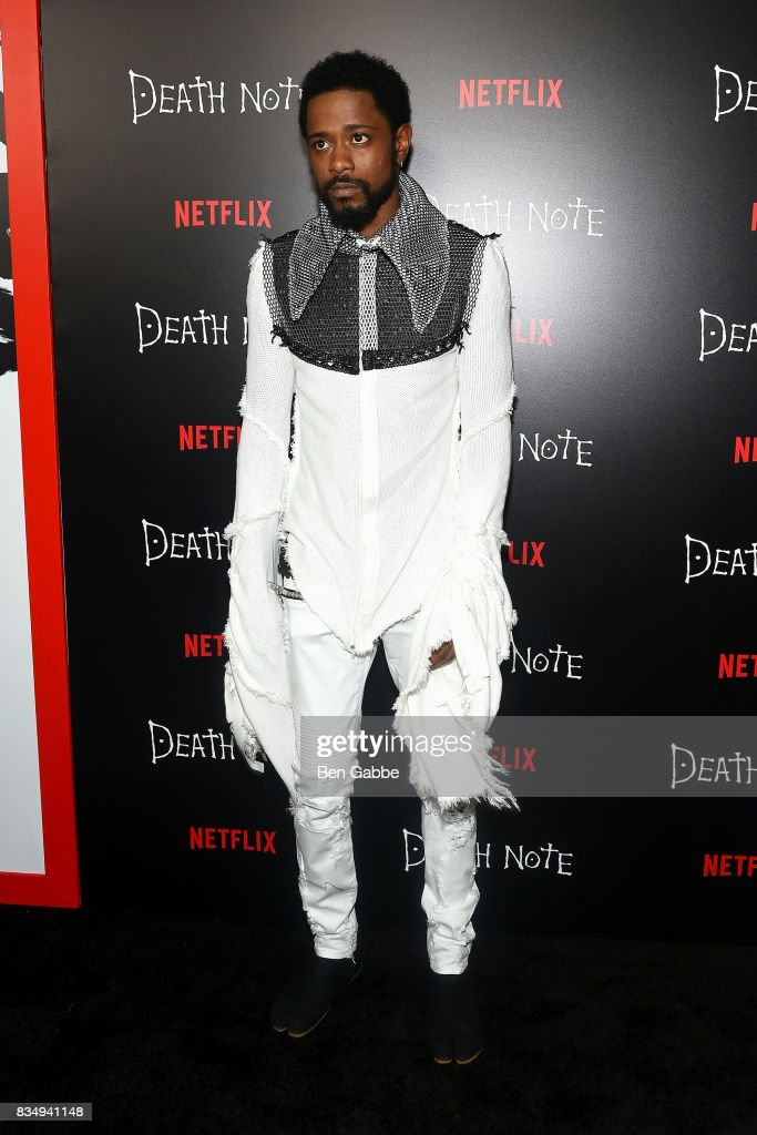 Actor LaKeith Stanfield attends the 'Death Note' New York premiere at AMC Loews Lincoln Square 13 theater on August 17, 2017 in New York City.