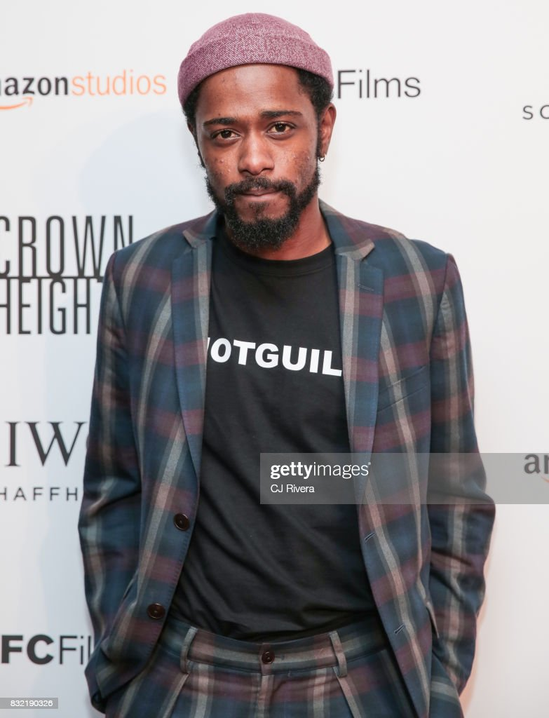 Actor Lakeith Stanfield attends the New York premiere of 'Crown Heights' at The Metrograph on August 15, 2017 in New York City.