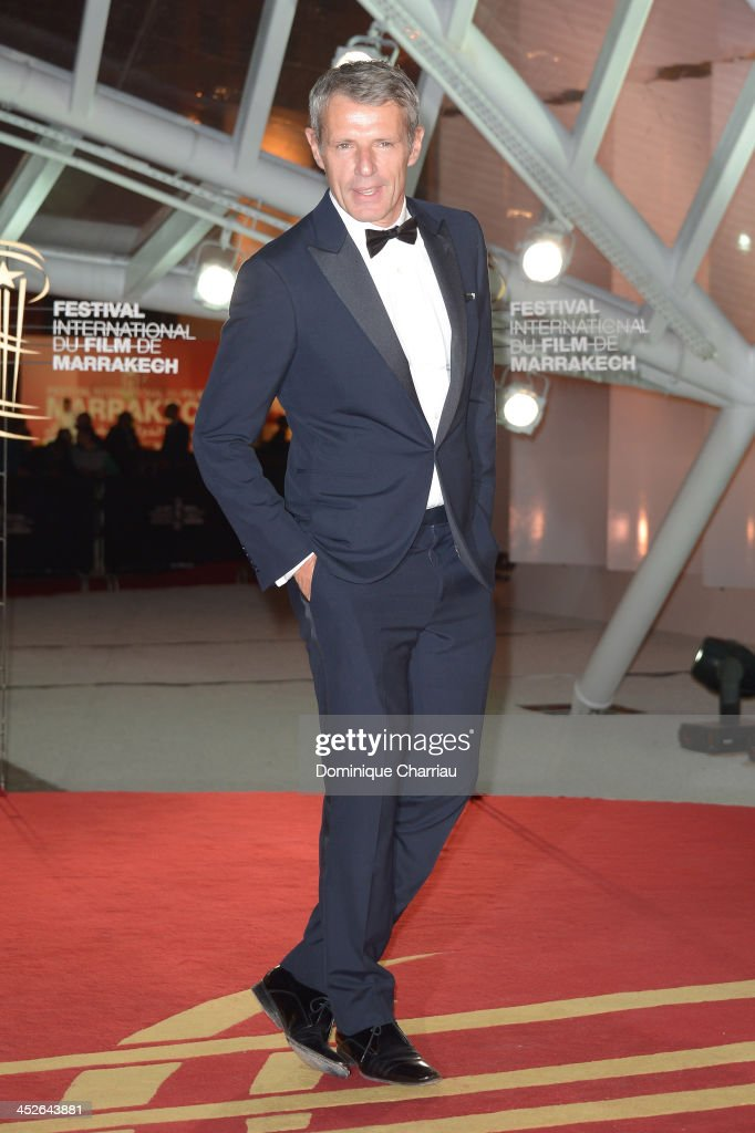 Actor <a gi-track='captionPersonalityLinkClicked' href=/galleries/search?phrase=Lambert+Wilson&family=editorial&specificpeople=626933 ng-click='$event.stopPropagation()'>Lambert Wilson</a> attends the 'A Thousand Times Good Night' premiere during the 13th Marrakech International Film Festival on November 30, 2013 in Marrakech, Morocco.