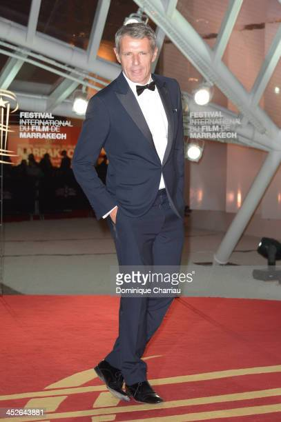 Actor Lambert Wilson attends the 'A Thousand Times Good Night' premiere during the 13th Marrakech International Film Festival on November 30 2013 in...