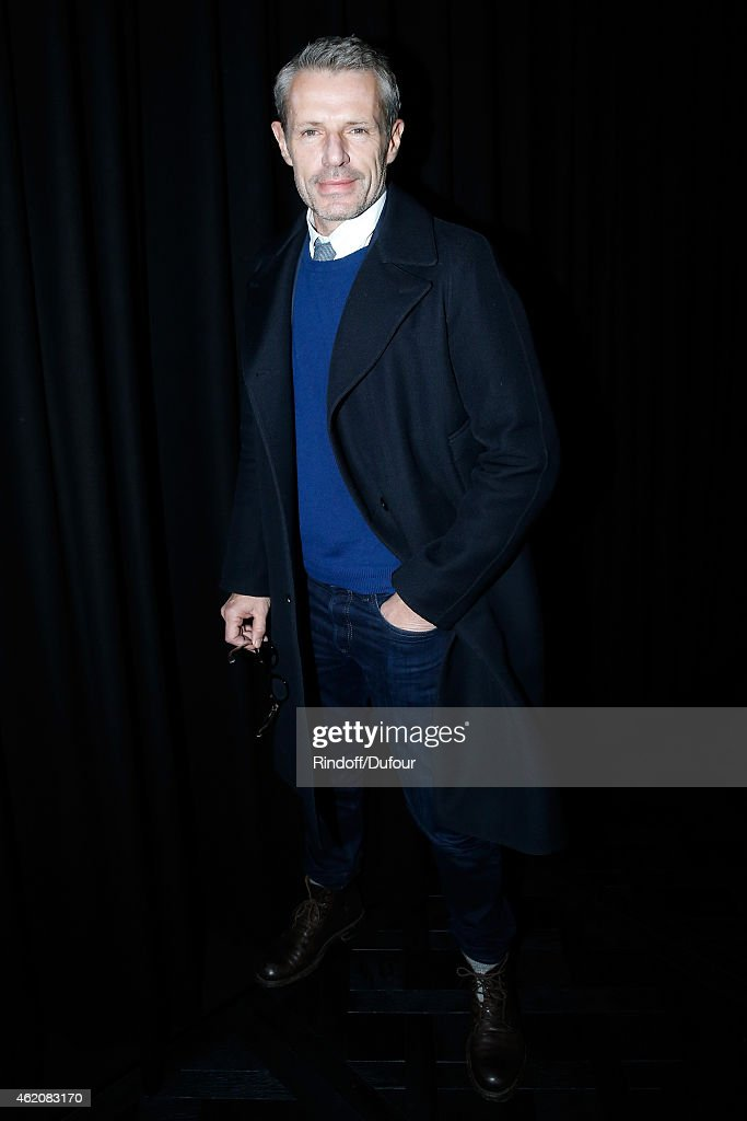 Actor <a gi-track='captionPersonalityLinkClicked' href=/galleries/search?phrase=Lambert+Wilson&family=editorial&specificpeople=626933 ng-click='$event.stopPropagation()'>Lambert Wilson</a> attends the Dior Homme Menswear Fall/Winter 2015-2016 Show as part of Paris Fashion Week on January 24, 2015 in Paris, France.