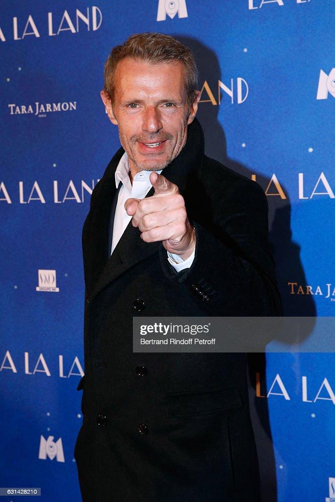 Actor Lambert Wilson attends the 'La La Land' Paris Premiere at Cinema UGC Normandie on January 10, 2017 in Paris, France.