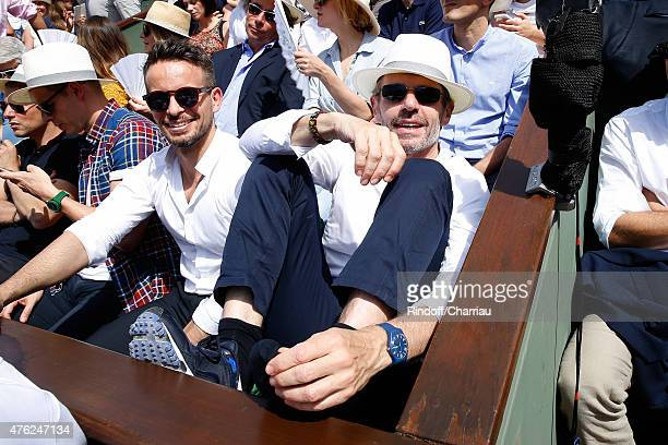 Actor Lambert Wilson attends the Men Final of 2015 Roland Garros French Tennis Open Day Fithteen on June 7 2015 in Paris France