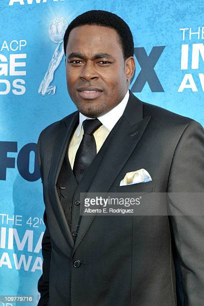 Actor Lamman Rucker arrives at the 42nd NAACP Image Awards held at The Shrine Auditorium on March 4 2011 in Los Angeles California