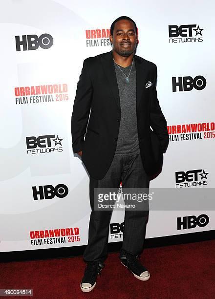 Actor Lamman Rucker attends 2015 Urbanworld Film Festival at AMC Empire 25 theater on September 25 2015 in New York City