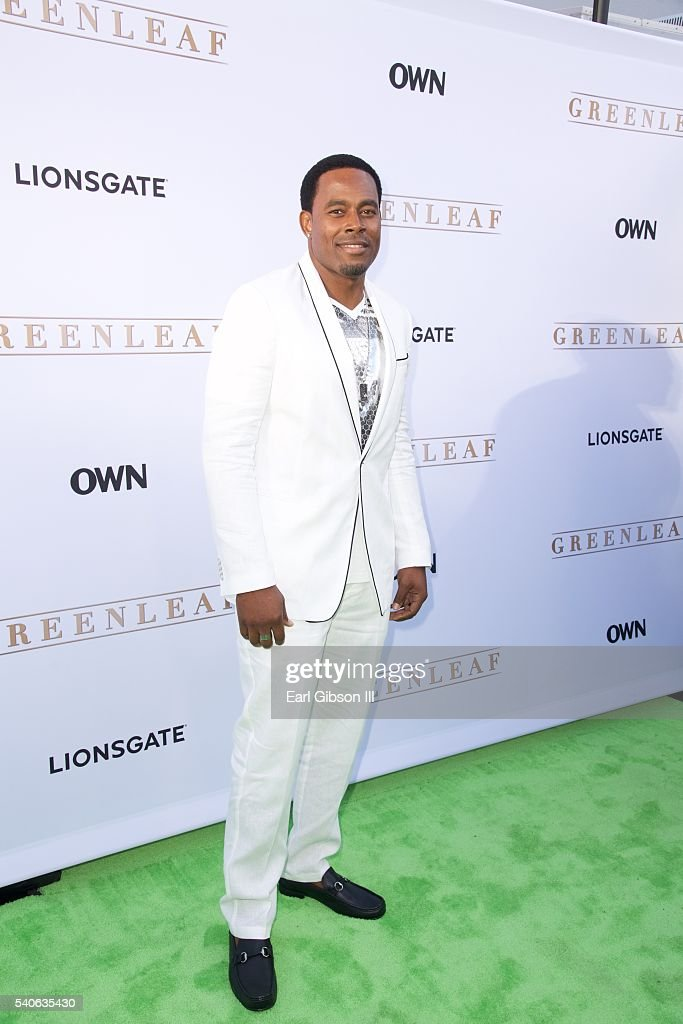Actor Lamman Rucker attends the premiere of OWN's 'Greenleaf' at The Lot on June 15, 2016 in West Hollywood, California.