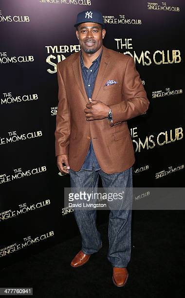 Actor Lamman Rucker attends the premiere of Tyler Perry's 'The Single Moms Club' at the ArcLight Cinemas Cinerama Dome on March 10 2014 in Hollywood...