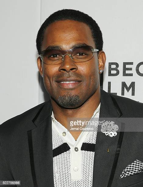 Actor Lamman Rucker attends the Tribeca Tune In 'Greenleaf' Screening at John Zuccotti Theater at BMCC Tribeca Performing Arts Center on April 20...