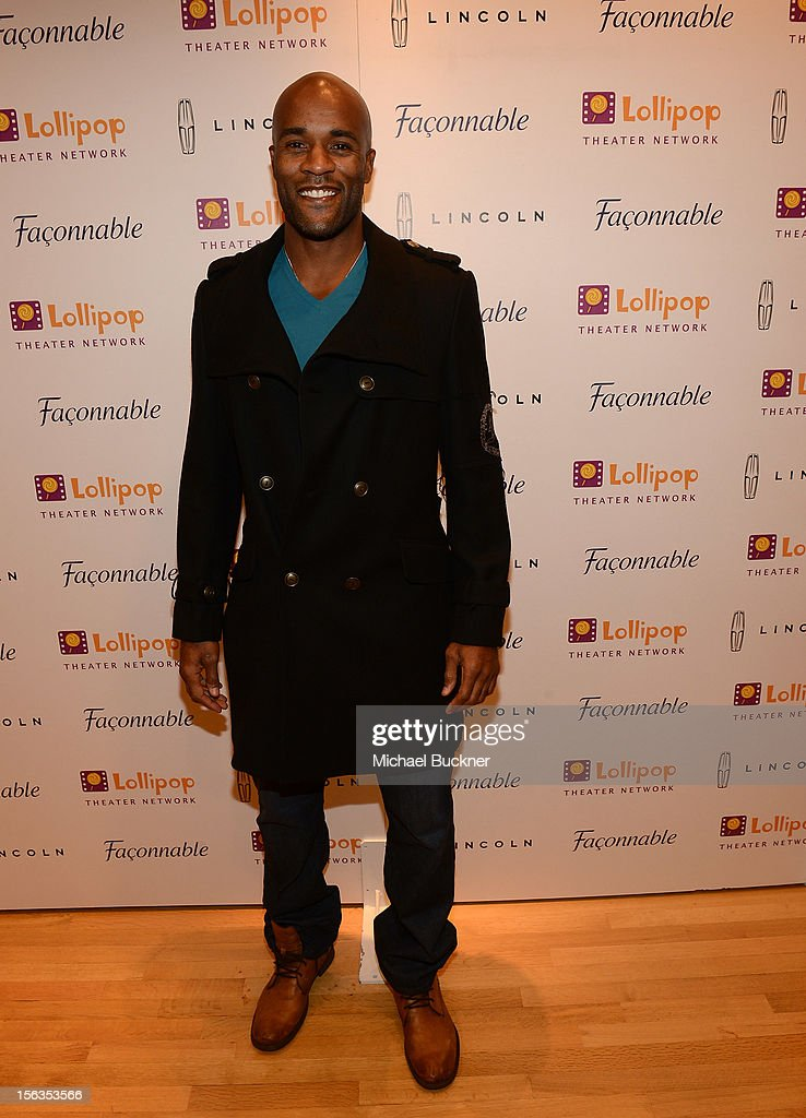 Actor LaMonica Garrett attend the Faconnable Kicks Off The Holidays Shopping Event Benefitting Lollipop Theater Network at Faconnable on November 13, 2012 in Beverly Hills, California.