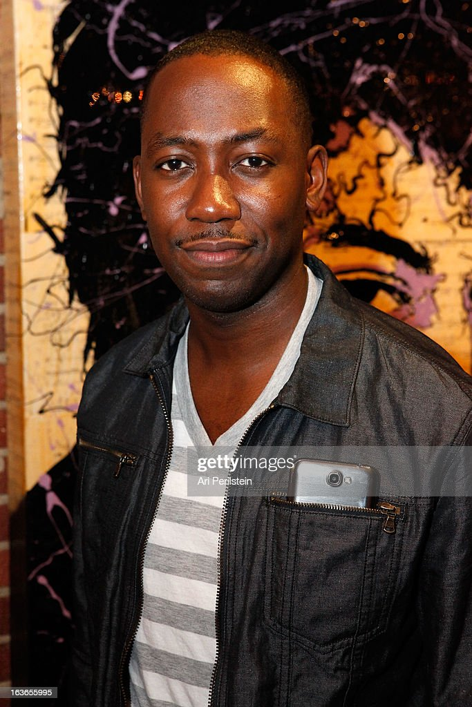 Actor <a gi-track='captionPersonalityLinkClicked' href=/galleries/search?phrase=Lamorne+Morris&family=editorial&specificpeople=671004 ng-click='$event.stopPropagation()'>Lamorne Morris</a> attends Park Place A Solo Show By Alec Monopoly At LAB ART on March 13, 2013 in Los Angeles, California.
