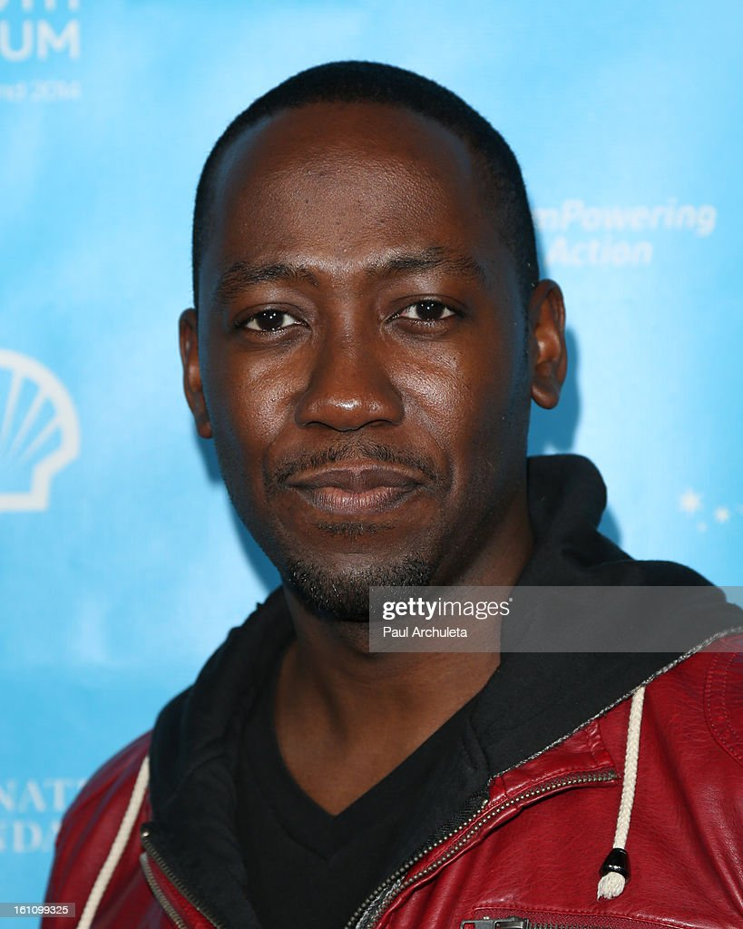 Actor <a gi-track='captionPersonalityLinkClicked' href=/galleries/search?phrase=Lamorne+Morris&family=editorial&specificpeople=671004 ng-click='$event.stopPropagation()'>Lamorne Morris</a> attends the 'mPowering Action' platform launch at The Conga Room at L.A. Live on February 8, 2013 in Los Angeles, California.