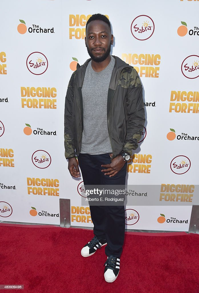 Actor Lamorne Morris attends the premiere of 'Digging for Fire' at The ArcLight Cinemas on August 13 2015 in Hollywood California