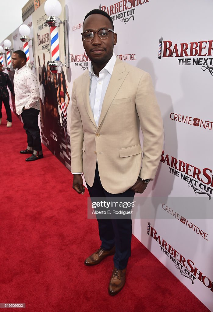Actor Lamorne Morris attends the premiere of New Line Cinema's 'Barbershop The Next Cut' at the TCL Chinese Theatre IMAX on April 6 2016 in Hollywood...