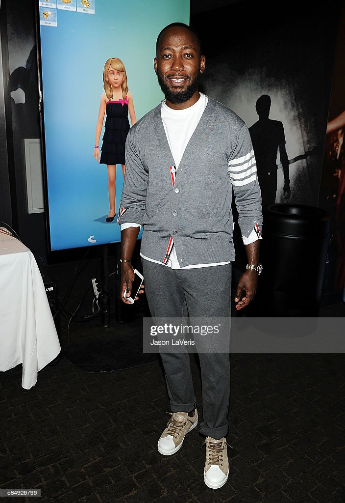 Actor Lamorne Morris poses in the green room at the 2016 Teen Choice Awards at The Forum on July 31 2016 in Inglewood California