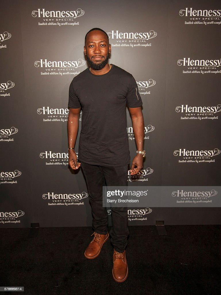 Actor Lamorne Morris walks the carpet during the Hennessy VS Limited Edition by Scott Campbell Bottle Launch on July 21 2016 in Chicago Illinois