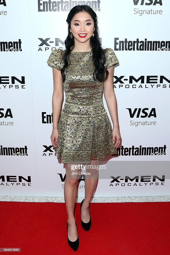Actor <a gi-track='captionPersonalityLinkClicked' href=/galleries/search?phrase=Lana+Condor&family=editorial&specificpeople=14229196 ng-click='$event.stopPropagation()'>Lana Condor</a> attends the special screening of 'X-MEN Apocalypse' at Entertainment Weekly on May 24, 2016 in New York City.
