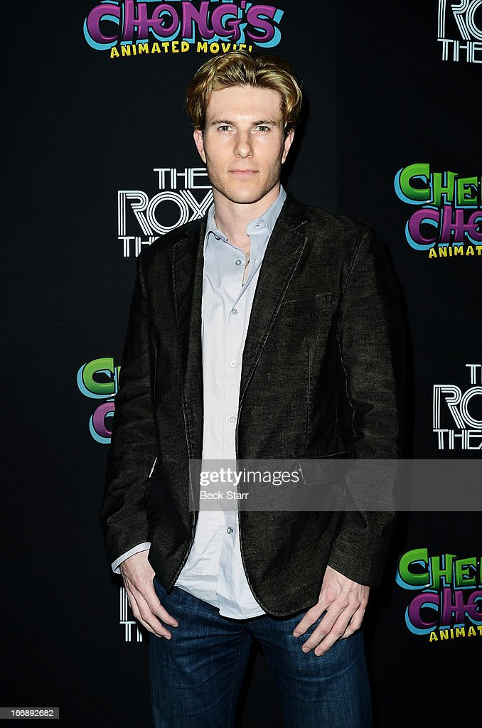 Actor Lance Broadway arrives at 'Cheech And Chong's Animated Movie!' VIP green carpet premiere at The Roxy Theatre on April 17, 2013 in West Hollywood, California.