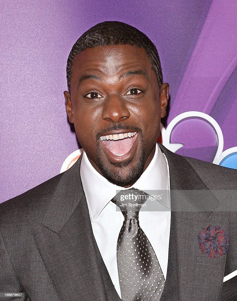 Actor Lance Gross attends 2013 NBC Upfront Presentation Red Carpet Event at Radio City Music Hall on May 13, 2013 in New York City.