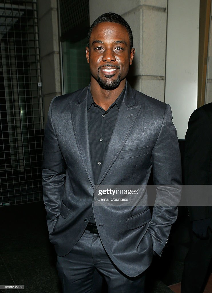 Actor Lance Gross attends The Hip-Hop Inaugural Ball II at Harman Center for the Arts on January 20, 2013 in Washington, DC.