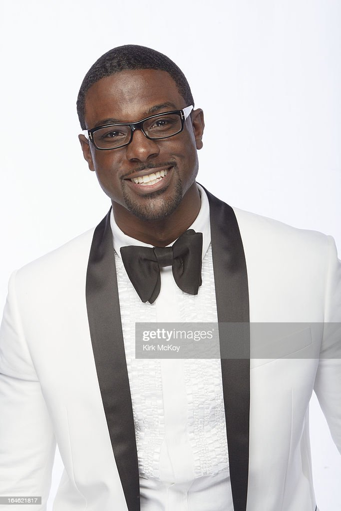 Actor Lance Gross is photographed at the NAACP Image Awards for Los Angeles Times on February 1, 2013 in Los Angeles, California. PUBLISHED IMAGE.