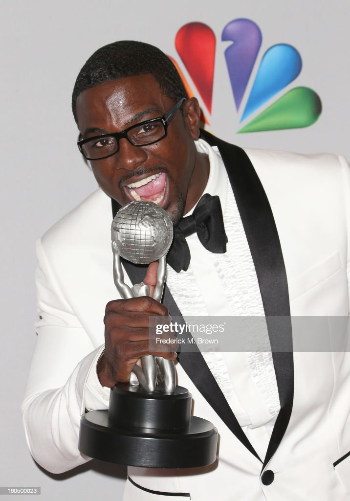 Actor Lance Gross, winner of Outstanding Supporting Actor in a Comedy Series for 'Tyler Perry's House of Payne,' poses in the press room during the 44th NAACP Image Awards at The Shrine Auditorium on February 1, 2013 in Los Angeles, California.
